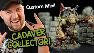 Making a Custom Cadaver Collector Miniature for Dungeons & Dragons