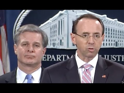 URGENT 🔴 DOJ and FBI drop the HAMMER on China at Press Conference