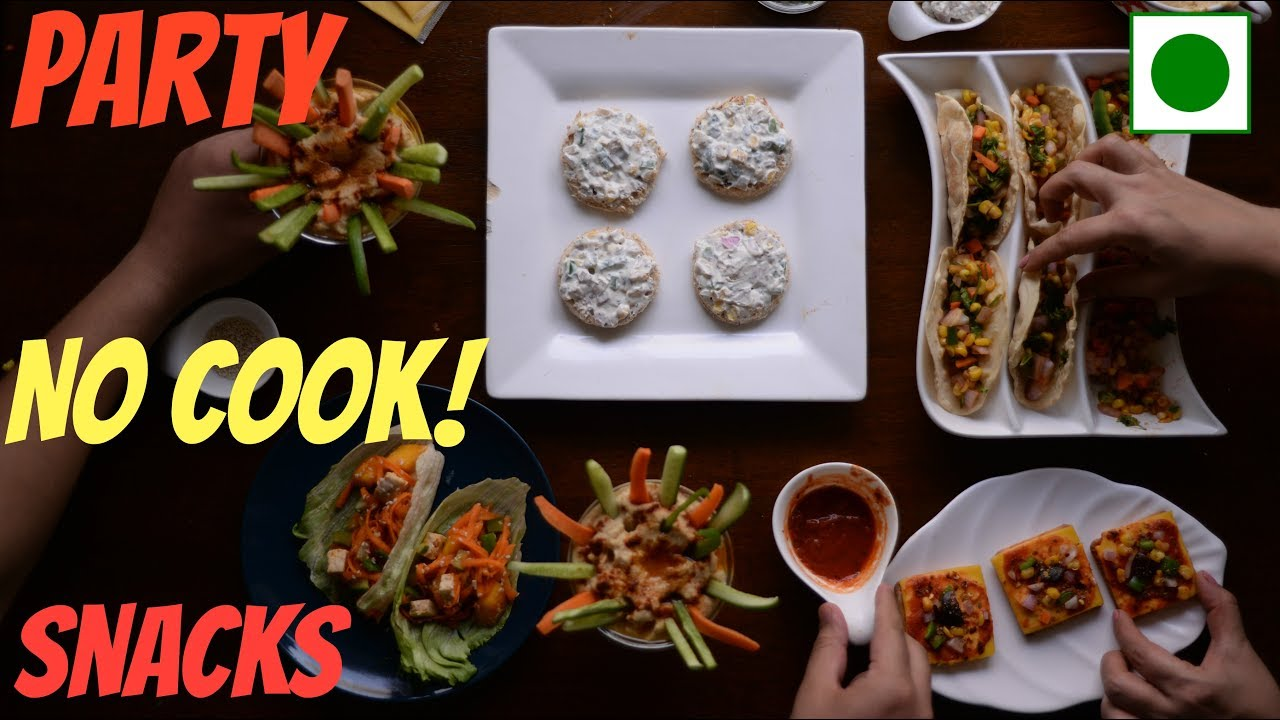 Easy Dinner Party Ideas For 6 Part - 43: 6 PARTY SNACKS IDEAS | No Cook Party Snack Ideas| DIY Easy Party Snack  Recipe