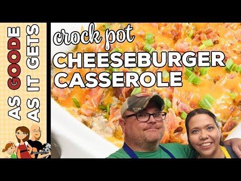 Crock Pot Cheeseburger Casserole (Low Carb)