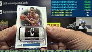 2016-17 Panini Impeccable Basketball 3 Box Case Break #1 - PYT