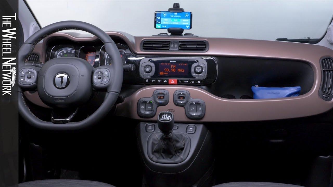 2020 Fiat Panda Trussardi Interior Youtube