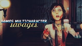» savages (games multicharacter collab) [gmv]