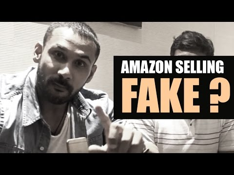 Amazon Selling Fake Really