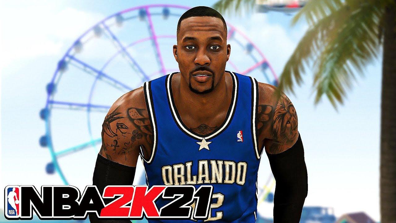 NBA 2K21 PRIME DWIGHT HOWARD BUILD - BEST CENTER BUILD on NBA 2K21