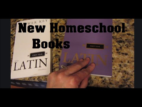 New Homeschool Books {Daily Vlog}