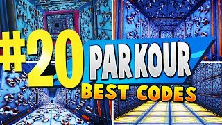 TOP 20 BEST PARKOUR Creative Maps In Fortnite - France Carte de Fortnite Parkour CODES