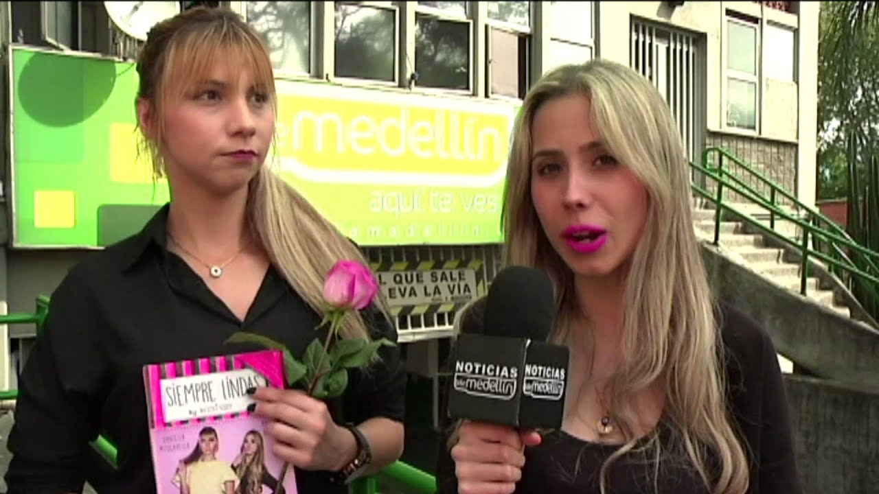 Siempre Lindas by we love nails primer bar de uñas de Latinoamérica [Noticias] , TeleMedellin , YouTube