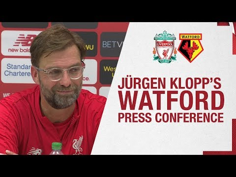 Jürgen Klopp's pre-Watford press conference | Firmino update and more