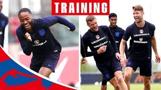 Hilarious Celebrations as Delph Scores Winner in Training Match! | Inside Training | England