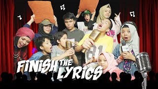 FINISH THE LYRIC CHALLENGE | GENHALILINTAR