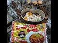 山でゴーゴーカレーラーメンを食べる 石川県 金沢市
