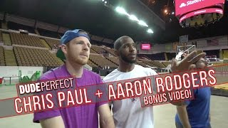 Dude Perfect Chris Paul & Aaron Rodgers Edition BONUS Video