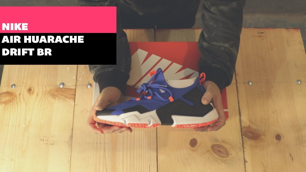 6536ff0468b Unboxing: Nike Air Huarache Drift BR