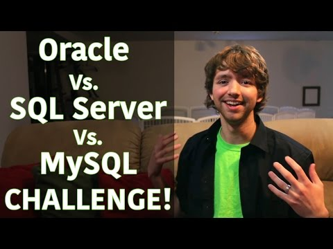 Oracle vs SQL Server vs MySQL Contest!