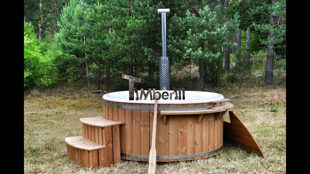 Badetonne Skargards Royal Wellness Hot Tub From Thermowood Model