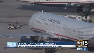 Final US Airways flight to make stop in Phoenix