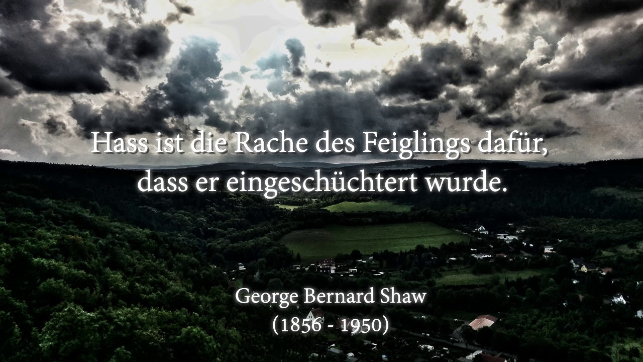 George Bernard Shaw Zitate Youtube
