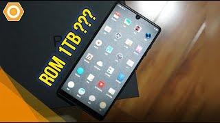 Smartphone với 1 TB bộ nhớ trong là có thật - Lưu cái gì cho hết