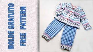 Como Fazer Pijama em Soft – 18 Meses a 6 Anos