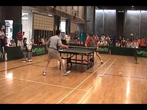 Khoa Nguyen vs. Ben Johnson - Quarterfinal San Diego Open Ping Pong Game