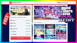 GTA 5 Online The Diamond Casino Heist DLC Update - FREE ARCADE PROPERTY! Best Upgrades & MORE!