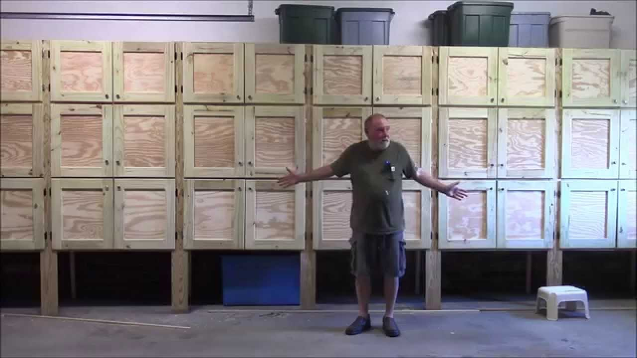 garage plans cabinets beautiful follow build easy how to
