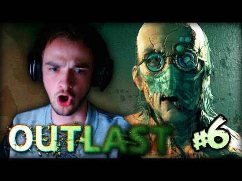 "OUTLAST (SCARY) - Part #6 - ""CRAZY SCIENTIST!"""