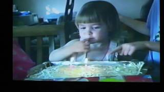 She Can't Blow Out Her Birthday Candles - Vintage 1991