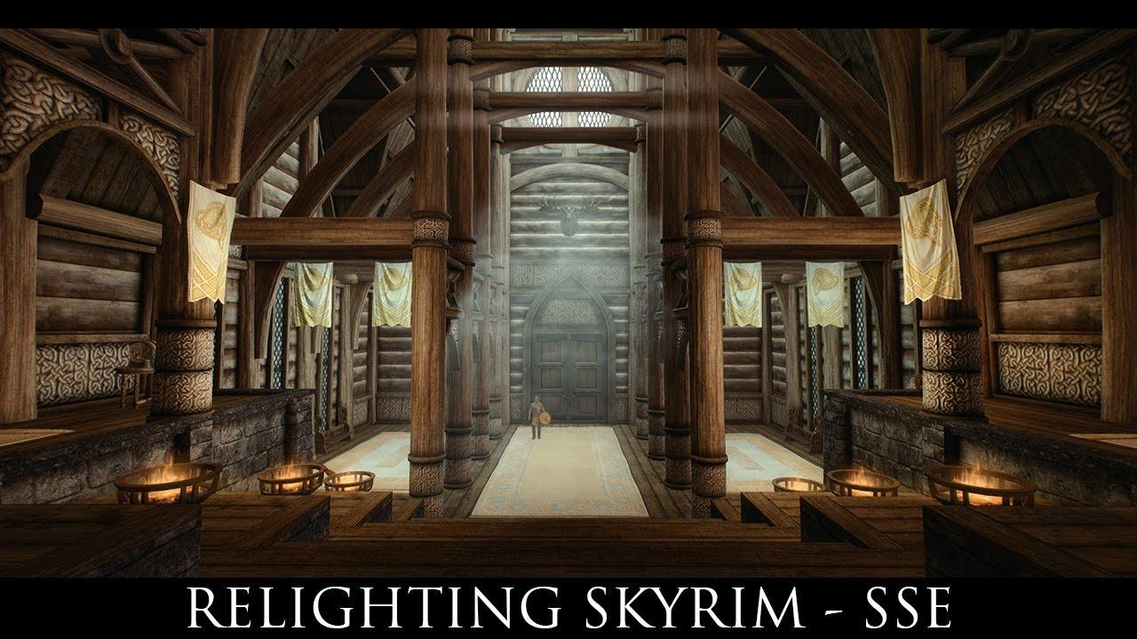 Skyrim SE Mods: Relighting Skyrim - SSE