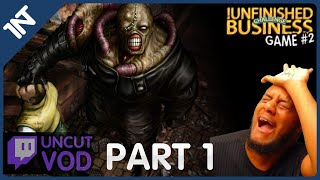 Resident Evil 3 Blind Part 1 [Ready for Nemesis upgrade?☹] [!Unfinished Business Game #2]