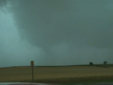 Raw: Severe Storms Hit Oklahoma