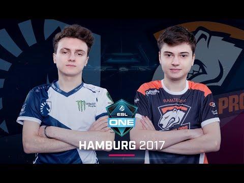 Dota 2 - Team Liquid vs. Virtus.pro - Game 1 - Group B Winners' - ESL One Hamburg Major 2017