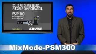 PSM300 Tutorial - MixMode