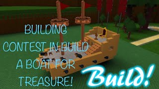 Build a boat for treasure plane building contest! | Roblox WITH MY FRIENDS!