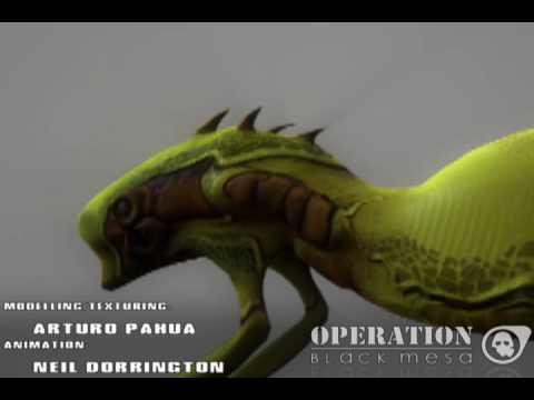 Operation Black Mesa Weapon Reel