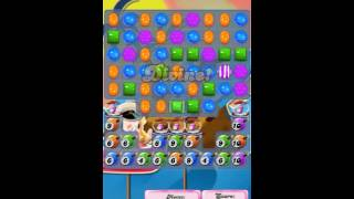 Candy crush saga level 1549  ☆☆☆ with 5 moves left