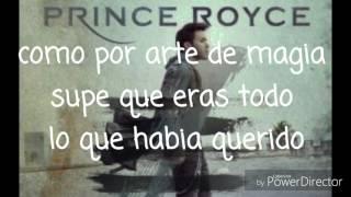 Prince Royce - Ganas locas Ft Farruko (letra)