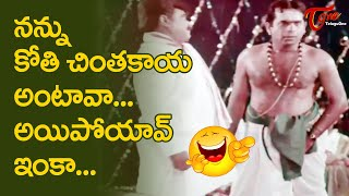 Iron Leg Sastry Comedy | Brahmanandam Comedy Scenes | Latest Telugu Comedy Videos | NavvulaTV