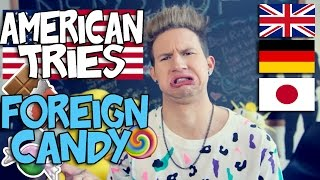 AMERICAN TRIES FOREIGN CANDY