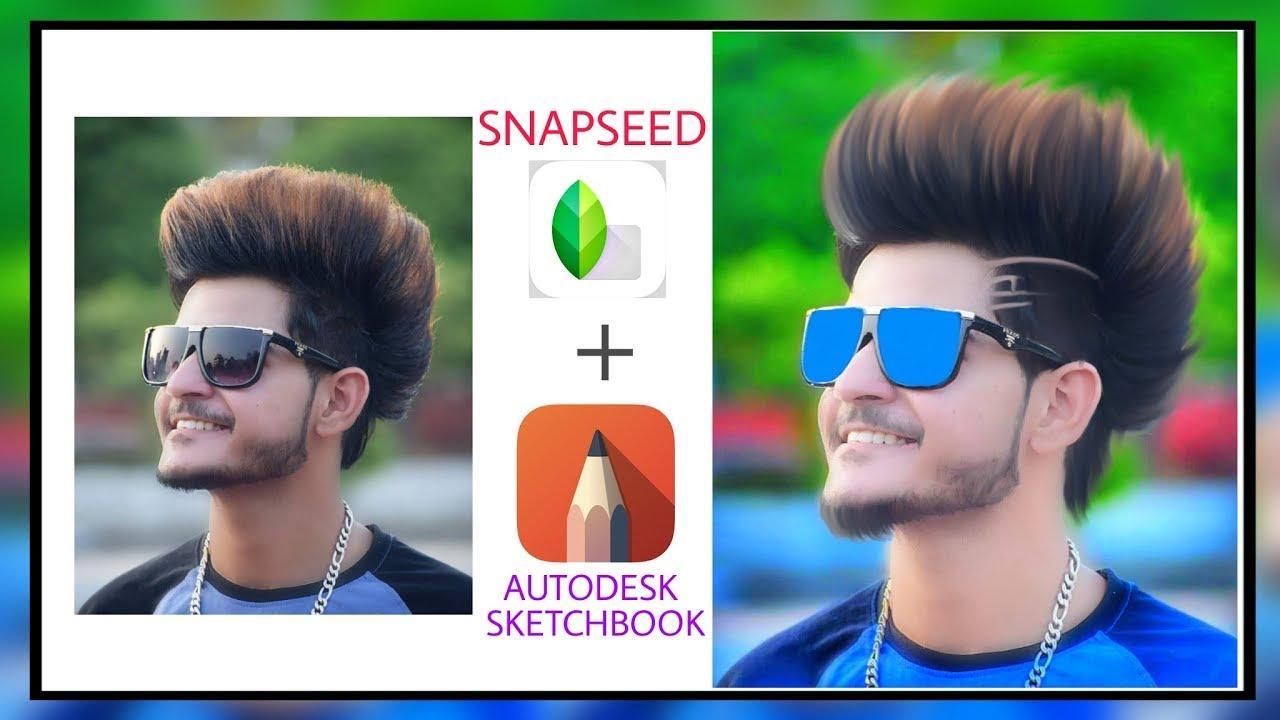 Snapseed Autodesk Sketchbook Editing Hair Editing Like Cb