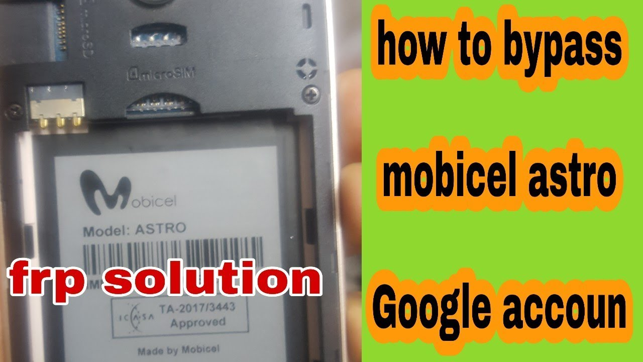How to bypass mobicel astro how to FRP rest mobicel astro