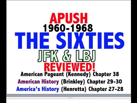 American Pageant Chapter 38 APUSH Review