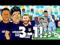 MAN CITY vs BARCELONA 3-1: The Blue Moon Song! (Parody Goals Highlights UCL 16/17)