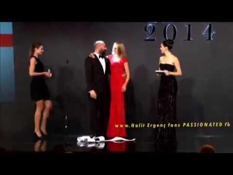 Halit Ergenc & Meryem Uzerli  ''GQ'' Man of the Year'' ...TRANSLATED....ENGLISH subs !!!!!