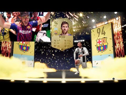 ME TOCA 3 VECES MESSI... FIFA 19 INCREIBLE PACK OPENING