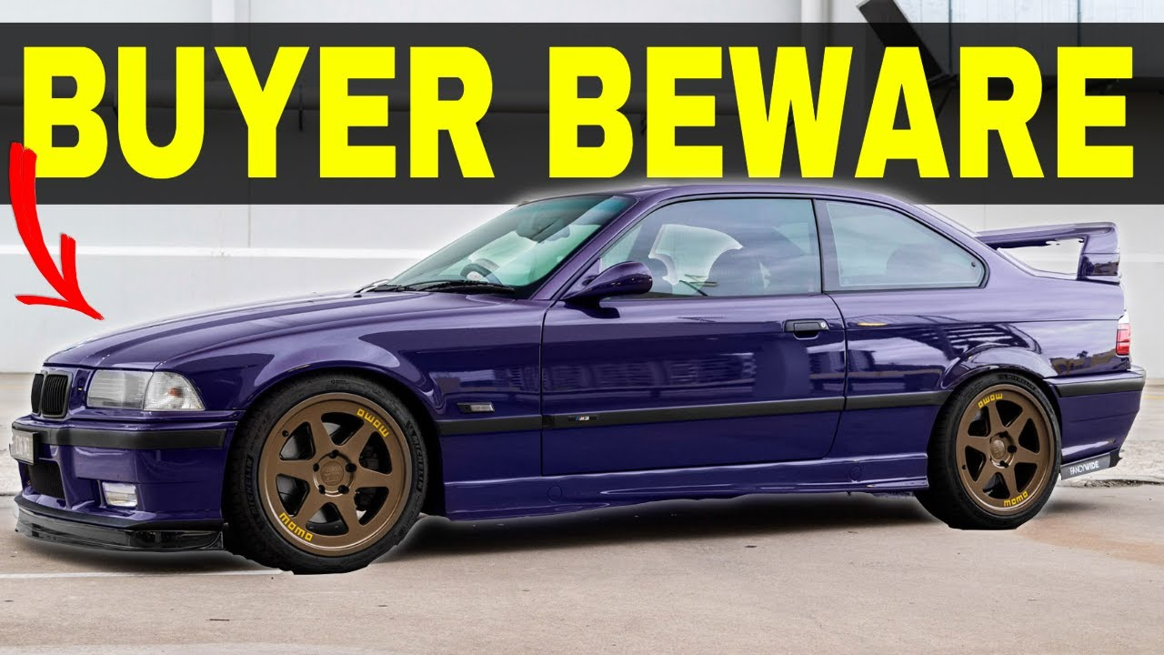 WATCH THIS Before Buying An E36 M3