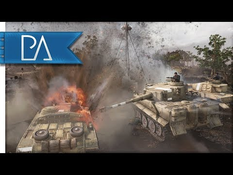ABSOLUTELY AMAZING BATTLE - Company Of Heroes 2 Multiplayer