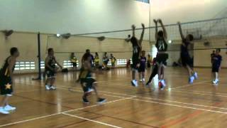 volleyball men team all star vs supershot 1st set
