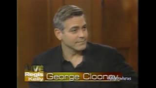 GEORGE CLOONEY makes KELLY go GAGA